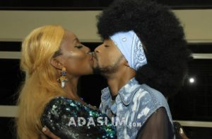 Wow, Event Host, Denrele Edun Caught Kissing in Public