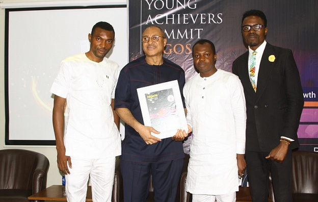 Lagos State Governor, Akinwunmi Ambode, Professor Pat Utomi and other Nigerians bags I am Nigeria Awards in Oriental Hotel, Lagos.