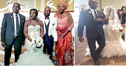 Siasia Walks Daughter, Sanita Down the Aisle