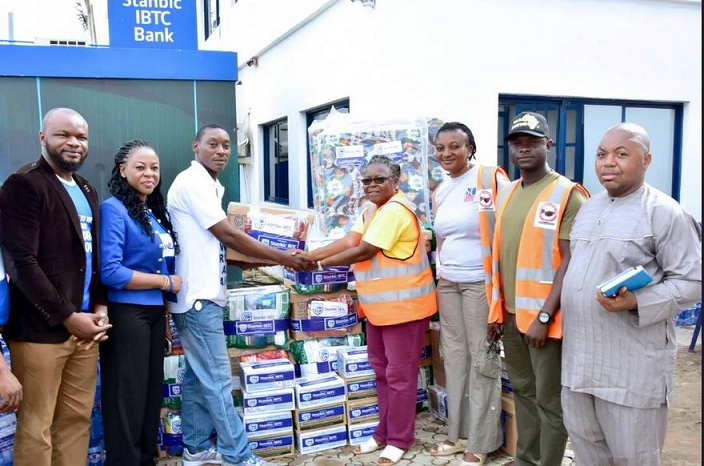 Stanbic IBTC Donates Relief Materials to Benue Flood Victims