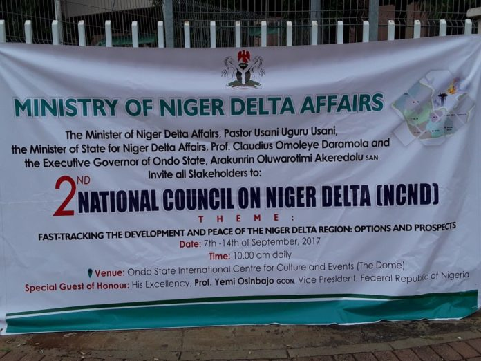 Council to end Infrastructural challenges in Niger Delta