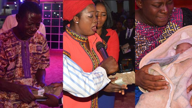 Pastor Joshua Iginla gives Scholarship, cash to orphan, others in one week