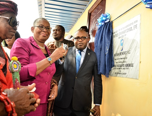 Lagos Govt Commends Nigerian Breweries at School Donation