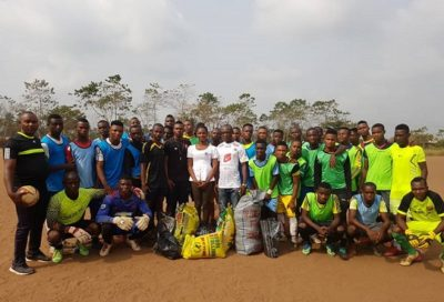 CEO of BIW management, director of DOO Foundation, Belladonna Obialor, ASJ football club in Eziobo community‎, Imo state, Kelechi Nwakali, Arsenal Club, Chidiebere Nwakali, Man City,