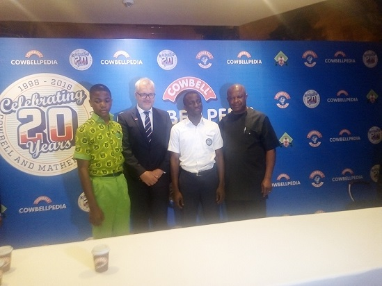 Cowbellpedia Secondary Schools Mathematics TV Quiz Show, Promasidor Nigeria Limited, Managing Director, Mr. Anders Einarsson,