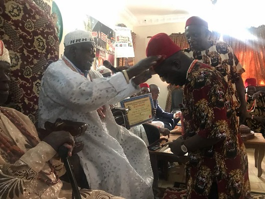 Celebration in Imo State As Hon. Tony Nwulu Bags Another Chieftaincy Title