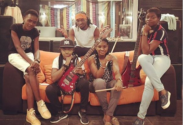 Paul Okoye, Peter Okoye, Music, P-Square, Female Band