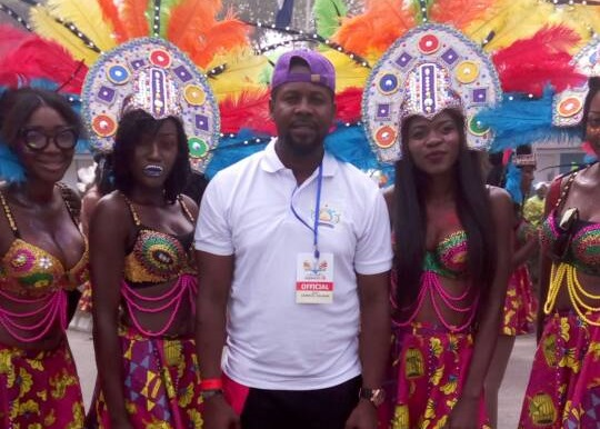 Models, Beauty Queens, Governor's Band, Calabar Carnival, Commissioner for Culture and Tourism Development in Cross River State, Mr Eric Anderson,