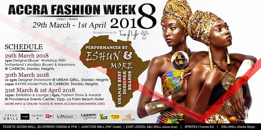 Accra Fashion Week, ghana, fashion, MAC Cosmetics, Zylon Media