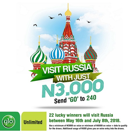 Globacom, Nigeria, Fifa World Cup, Russia, Telecommunication,