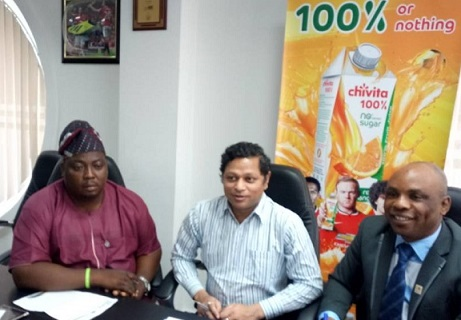 Chivita, CHI Limited, Sugar and Cholesterol Control Foundation (SACCOF), health, President of SACCOF, Ademola Adesoye, Hollandia Yoghurt, Hollandia Evaporated Milk, Hollandia UHT Milk, Hollandia Malt, # Chivita,