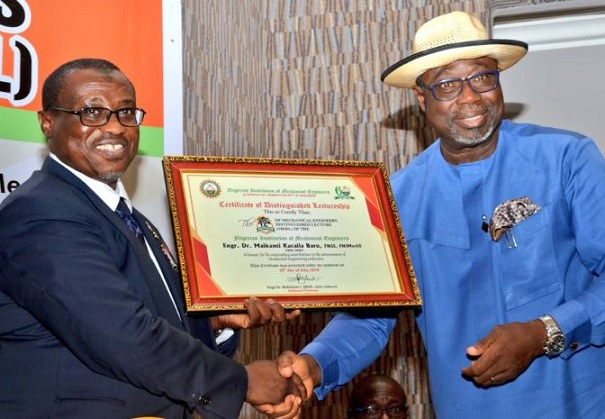 Group Managing Director of the Nigerian National Petroleum Corporation (NNPC), Dr Maikanti Baru, NNPC, mechanical engineers, 12th Mechanical Engineers Distinguished Lecture,