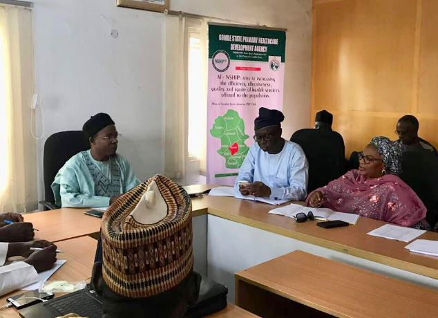 Federal Ministry of Health (FMOH), National Primary Health Care Development Agency (NPHCDA), World Bank, Health, Nigeria, Gombe state,