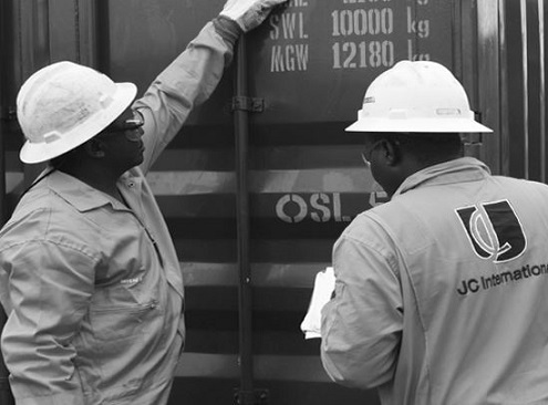 ESP Hull Gauging certification, American Bureau of Shipping (ABS), JC International, Institution of Occupational Safety and Health (IOSH), UK, Managing Director of the company, Engr. Austin Joseph,