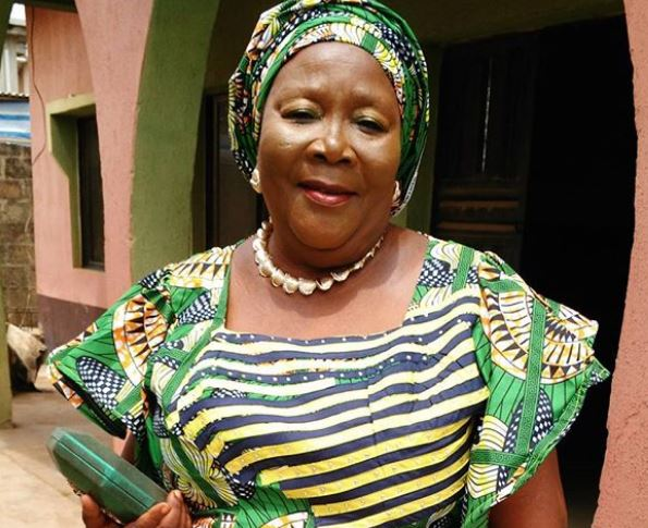 Nollywood, Mama Ereko, Yoruba movies, grandchild, Morenike Alausa Sulaimon