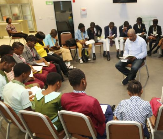 Total Nigeria, Oil and Gas, Book Reading Forum 2018, Energy Company, students, Nigerian students, Nigeria, education, brands