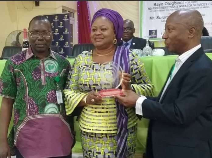 Lagos state Governor, Akinwunmi Ambode, Hon. Commissioner for Commerce, Industry and Cooperatives, Mrs Olayinka Oladunjoye, business, commerce, Nigeria, Nigeria Association of Small & Medium Enterprises