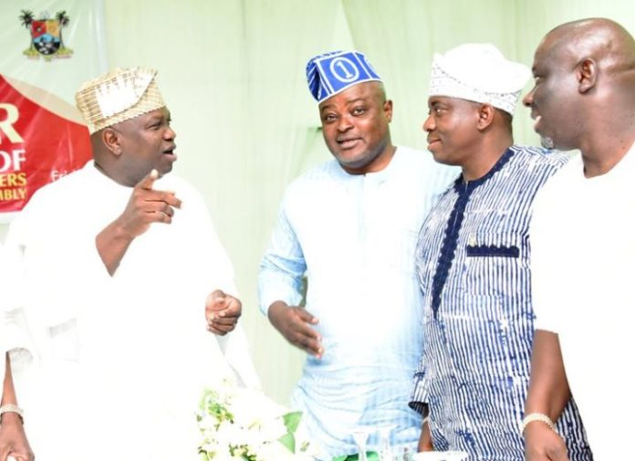 Lagos State Governor, Mr Akinwunmi Ambode, lawmakers, Lagos House in Alausa, Ikeja, Politics, Second Quarterly General Meeting of Conference of Speakers of State Legislatures in Nigeria,