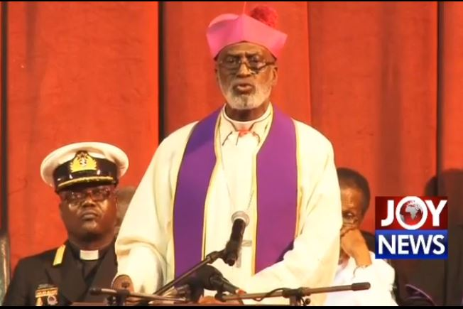 Ghanaian Archbishop Charles Palmer Buckle, religion, burial rites, Ghana, President,