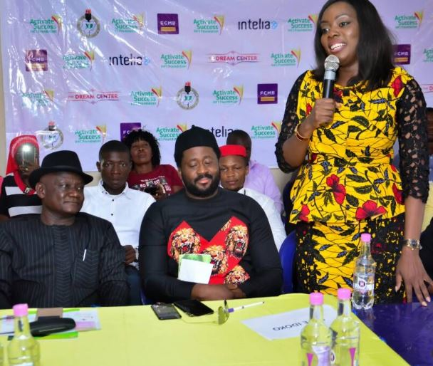 First City Monument Bank, FCMB, Banks, corps members, Abuja, Desmond Elliot, Nollywood, Lagos House of Assembly, Seyi Adekunle, CEO Vodi Group, Samson Itodo, Executive Director YIAGA Africa, Entrepreneurship Empowerment Programme (YEEP)
