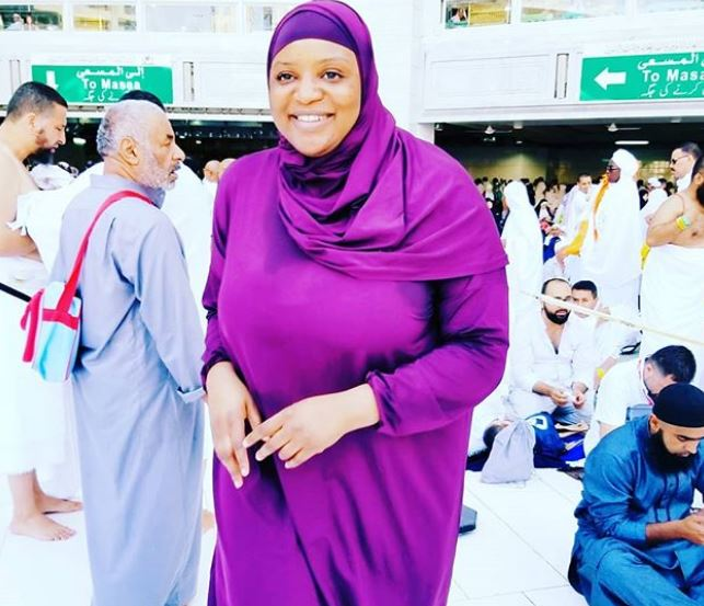 Actresses, Lizzy Anjorin, Funke Adesiyan, Saudi Arabia, Hajj 2018, Nigeria, celebrities, Nollywood, movies, religion, Holy Pilgrimage