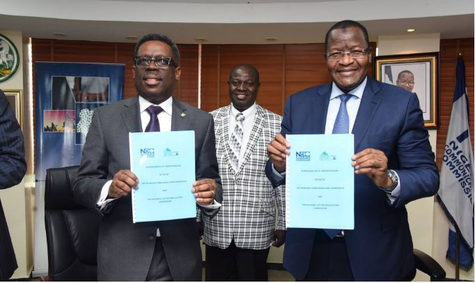 Nigerian Communications Commission, NCC, Nigeria, National Lottery Regulatory Commission (NLRC), Executive Vice Chairman, Nigerian Communications Commission, Professor Umar Garba Danbatta, Acting Director General of the NLRC, Lanre Gbajabiamila, MoU
