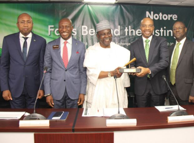 Notore Chemicals Industries Plc, Nigerian Stock Exchange, NSE, Chief Executive Officer of the Nigerian Stock Exchange, Oscar N. Onyema, fertilizer, Agricultural Transformation Agenda, Federal Government, Nigeria, CBN, Central Bank of Nigeria, business