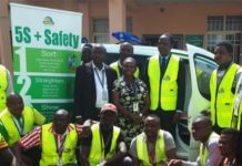NECA rewards Mouka with Brand New Ambulance