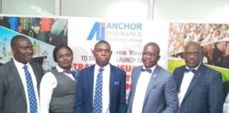 Anchor Insurance Introduces New products to Nigerians