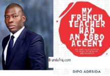Dipo Adesida book launch