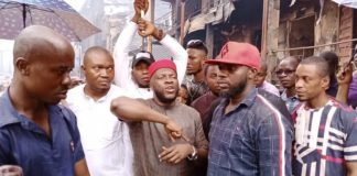 Onitsha Inferno: Engr. Onunkwo visits market, doles out 2.5m in support of fire victims