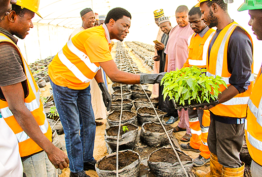 LAFARGE AFRICA PARTNERS NAERLS ON AGRO-ECOLOGY INITIATIVE