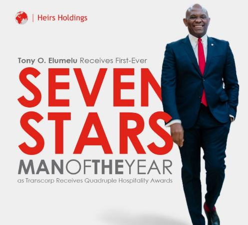 Tony Elumelu Emerges First ever Seven Stars Man of the Year