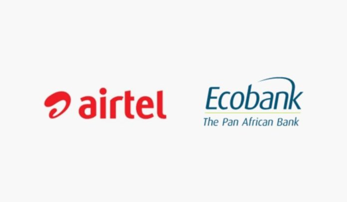 Airtel Africa announces partnership with Ecobank Group