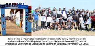 Keystone Bank boosts workplace engagement and productivity