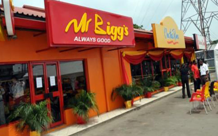 "MR BIGG'S WINS ""RESTAURANT OF THE YEAR"" AWARD"