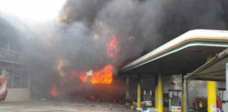 Fire at NNPC Retail Affiliate Station from Underground Tank-NNPC