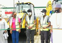 RELIEF IN ETI OSA, AS SANWO-OLU FLAGS OFF CONSTRUCTION OF REGIONAL ROAD