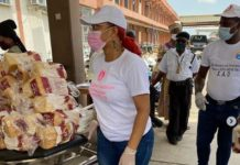 Nollywood Actress, Tonto Dikeh Rescues Children in Nigerian Hospital