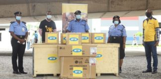 MTN Foundation Donates Medical Equipment to Police Hospital