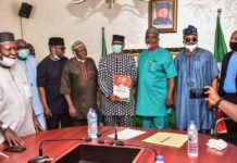 Ondo 2020 : Jegede Storms Abuja with former Deputy Governor, Rep members, Others
