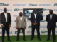 From Left: Deputy Managing Director, eTranzact International Plc, Hakeem Adeniji-Adele; Managing Director, Akko Global, Mr. Wale Adewuni; MD/CEO, eTranzact International Plc Mr. Niyi Toluwalope and Group Head, Business Development (Private Sector) eTranzact International Plc, Adeyemi Adeyemo at the launch of Nigerian Insurance Supermarket powered by eTranzact.