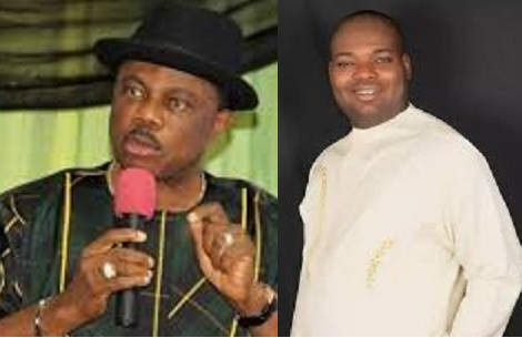 Obiano, Nwoye tackles each other