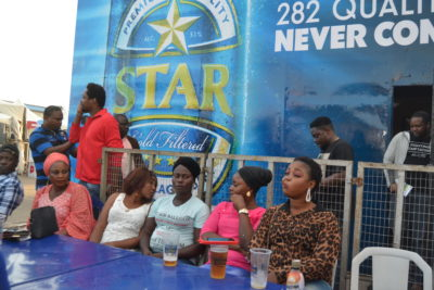 Nigerian Breweries Excites Consumers with Mini Brewery at Beer Festival