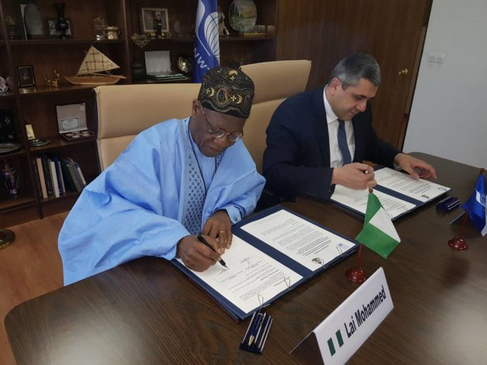 UN World Tourism Organization (UNWTO), Minister of Information and Culture, Alhaji Lai Mohammed,