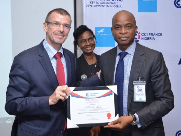 Union Bank, Nigeria, Agriculture, CCI France Nigeria Business Breakfast meeting, Executive Director of Commercial Banking (Union Bank), Adekunle Sonola