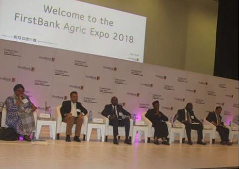 First Bank, Nigeria, Agriculture, Minister of Agriculture and Rural Development, Audu Ogbeh, #FirstBankAgricExpo2.0, #YouFirst, FirstBankAgricExpo2.0, Minister of Industry, Trade & Investment, Dr Okechukwu Enelamah, Ibukun Awosika, Agropreneurs,