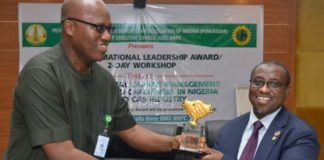 "Nigerian National Petroleum Corporation (NNPC), Dr. Maikanti Baru, Petroleum & Natural Gas Senior Staff Association of Nigeria (PENGASSAN), ""Transformational Leadership Award"", NNPC Chief Financial Officer, Alh. Isiaka Abdulrazak, NNPC Group's Chief Operating Officer, Corporate Services, Mallam Isa M. Inuwa, ENGASSAN"