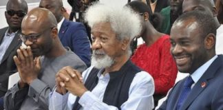 M.D, Abubakar Suleiman, E.D Corporate and Investment Banking, Yemi Odubiyi, Sterling Bank Nigeria, Sterling Bank, Professor Wole Soyinka, Sterling Leadership Series, Banking, Nigeria
