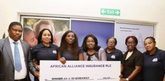 African Alliance PLC, insurance, African Alliance Limited, African Alliance @58 entrepreneur giveaway